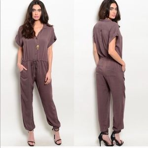 Other - Brown Jumpsuit